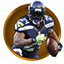 Marshawn Lynch Legacy Award in Madden NFL 16 (Xbox 360)