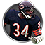 Walter Payton Legacy Award in Madden NFL 16 (Xbox 360)