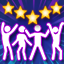 Funky Four! in Just Dance 2016 (Xbox 360)