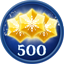 Obtain 500 Stars in Frozen Free Fall: Snowball Fight (Xbox 360)