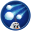 Snowball Dodge in Frozen Free Fall: Snowball Fight