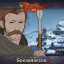 Spearmaster in The Banner Saga