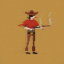 Gunslinger in Sheltered