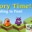 Story Time! in Skyling: Garden Defense