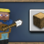 Getting Wood in Minecraft: Pocket Edition (iOS)