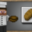 Bake Bread in Minecraft: Pocket Edition (iOS)