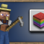 Rainbow Collection in Minecraft: Pocket Edition (iOS)