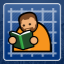 I Read A Book Once... Green It Was in Prison Architect: Xbox One Edition