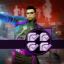 The Challenge King in Saints Row IV: Re-Elected