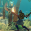 Skilled fighter in Pharaonic