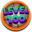Reach the level 100 in Bubble Guriko (WP)