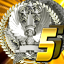Platinum medal Version B in Bullet Soul