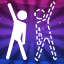 Forever alone in Just Dance 2017 (Xbox 360)