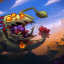 Riding my Robotic Steed in Awesomenauts Assemble!