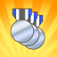Silver Champion in Boom Ball 2 for Kinect