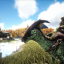 Your first ride... in ARK: Survival Evolved