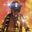 Leading Fire Chief in Firefighters – The Simulation
