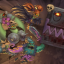 Flattened in Zombie Vikings
