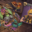 Space Butterflies in Zombie Vikings