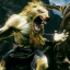 Stylish Sabrewulf in Killer Instinct