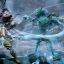 Battle-worn Glacius in Killer Instinct