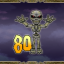 Defeat 80 skeletons in Demon's Crystals