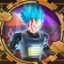 This is the New Super Saiyan Blue! in Dragon Ball Xenoverse 2
