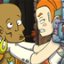 A bond for life in Chaos on Deponia