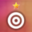 Complete all levels with at least 1 star in Spiral Splatter